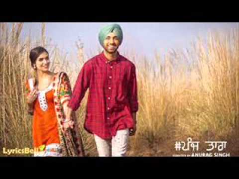 5 dj punjabi song back2back