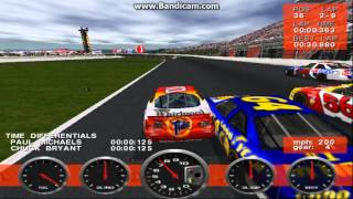NASCAR Revolution PC Race #23 Gameplay (Ricky Rudd) (Atlanta) (9 Laps)
