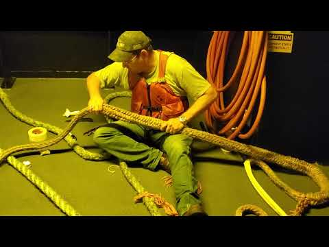 Dyneema Splice On Old Line Part 1