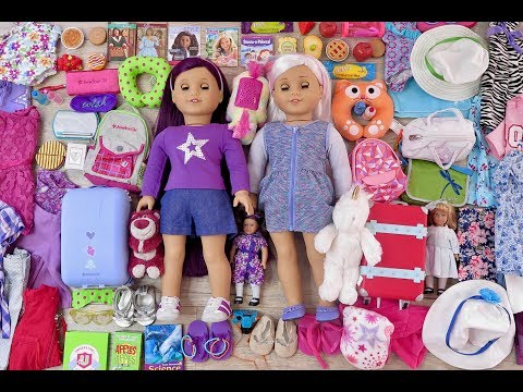 Packing For An American Girl Doll Road Trip