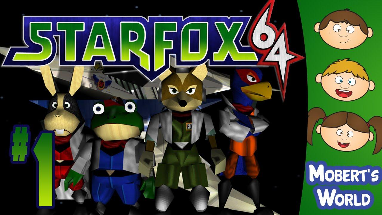 Let S Play Star Fox 64 N64 1 Star Fox Nintendo 64 Gameplay