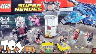 레고 수퍼 히어로 격전 76051 조립 리뷰, 캡틴아메리카 시빌 워 전쟁 Lego Super Hero Airport Battle captain america civil war