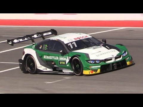 Bmw M4 Dtm 2019 In Action At Misano World Circuit Turbo 4 Cylinders Sound Flybys Accelerations