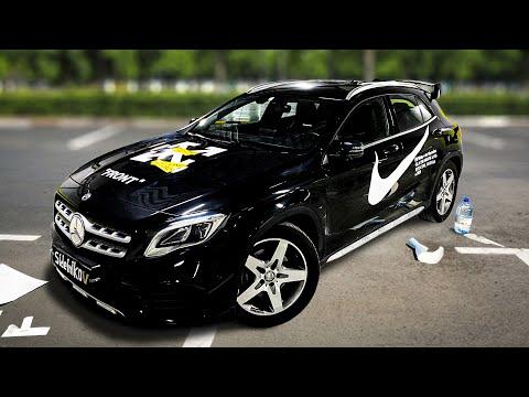 Дешевый Тюнинг - Наклейки на Mercedes GLA из Китая за 5тыс. Рублей