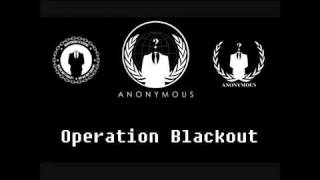 megaupload is down due to s o p a translated anonymous original operation blackout