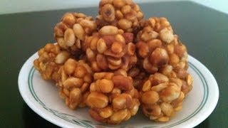 Chikki with jaggery
