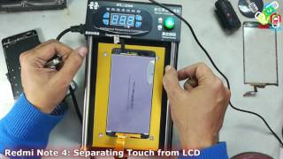 Xiaomi Redmi Note 4: Separating Touch from LCD.......