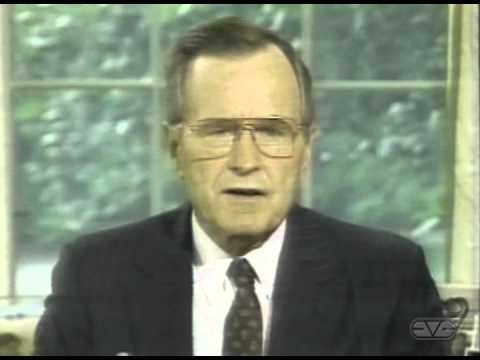 President George H.W. Bush Defense of Saudi Arabia Address