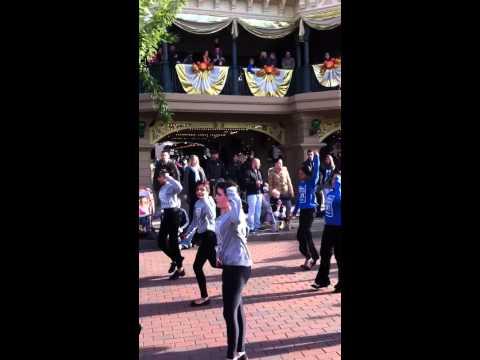 Adam Hague School Of Dance - Disney Parade 2012