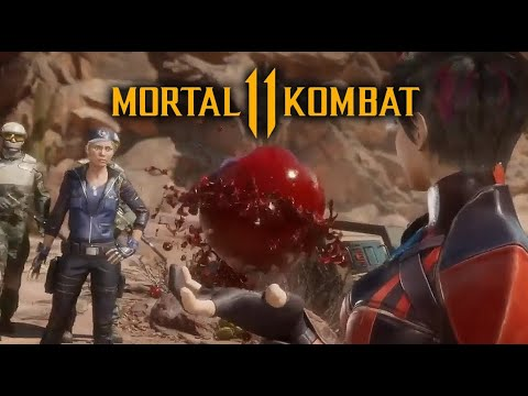 Mortal Kombat 11: Character Customisation, Sonya vs Skarlet Gameplay with Fatality
