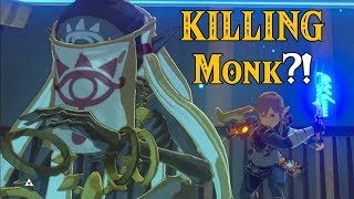 KILLING a Shrine's Sheikah MONK?! Getting BotW 2 LEAKS in Zelda Breath of the Wild