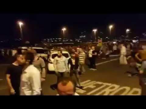 15 Temmuz 2016 - İstanbul | Boğaziçi Köprüsü'ndeki direniş