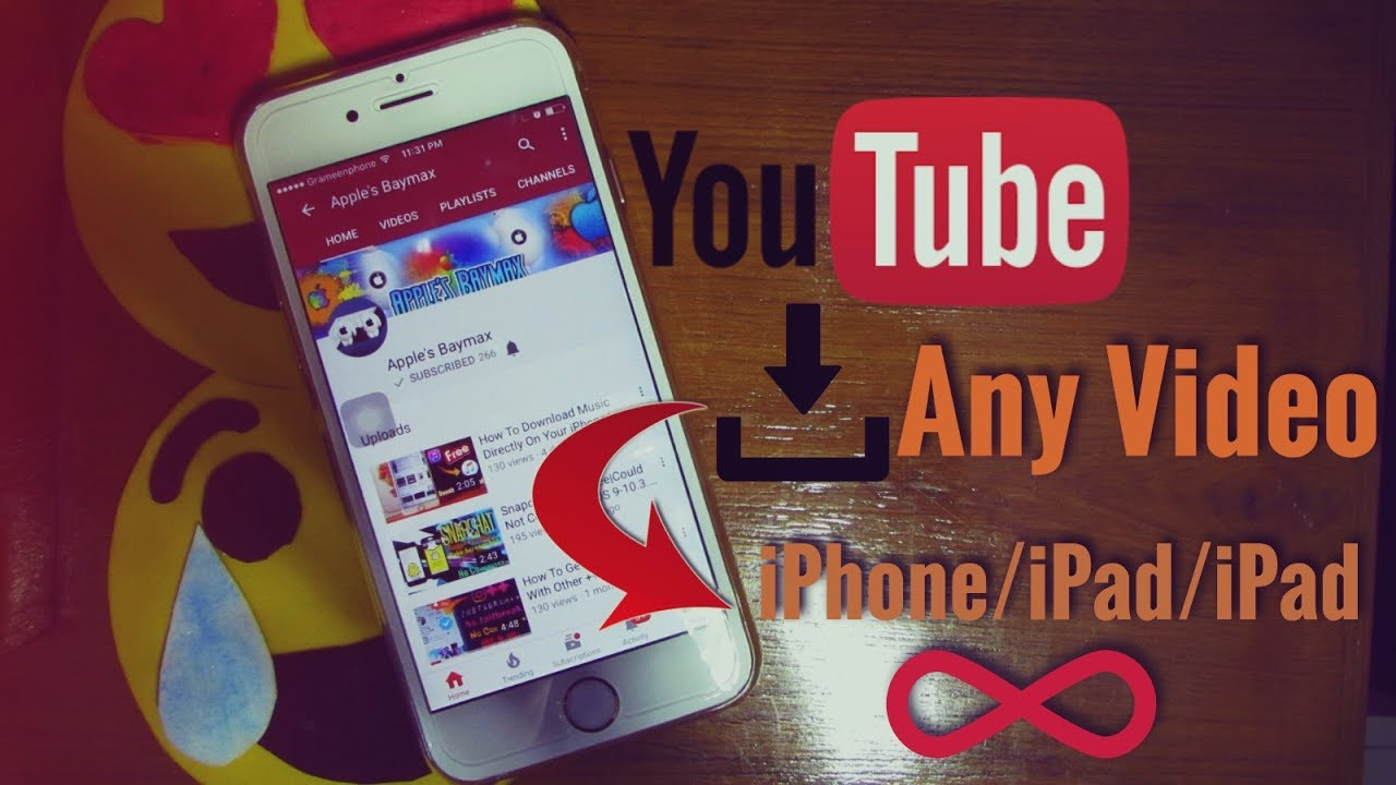How to download any youtube video directly on your idevice for how to download any youtube video directly on your idevice for freeno jailbreak or pc apples baymax ccuart Choice Image