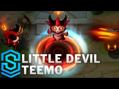 Little Devil Teemo Skin Spotlight - League of Legends