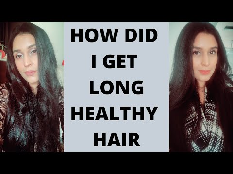 HOW TO GET LONG/HEALTHY/FRIZZ FREE/SHINY HAIR | My Haircare Routine | Chetali Chadha