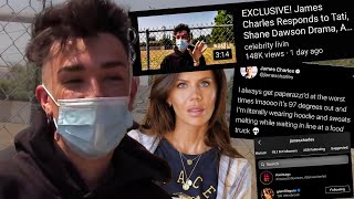 James Charles ADDRESSES Tati and Shane Dawson...