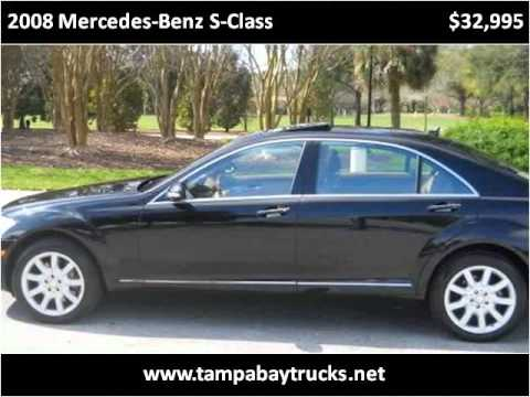 2008 mercedes benz s class used cars largo tampa fl youtube