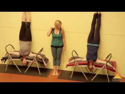Headstand with 2 chairs - Jules Mitchell