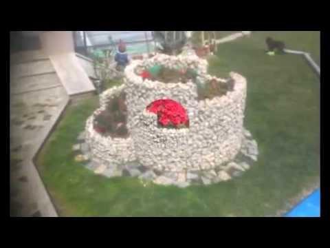 Uredjenje dvorista i baste - YouTube
