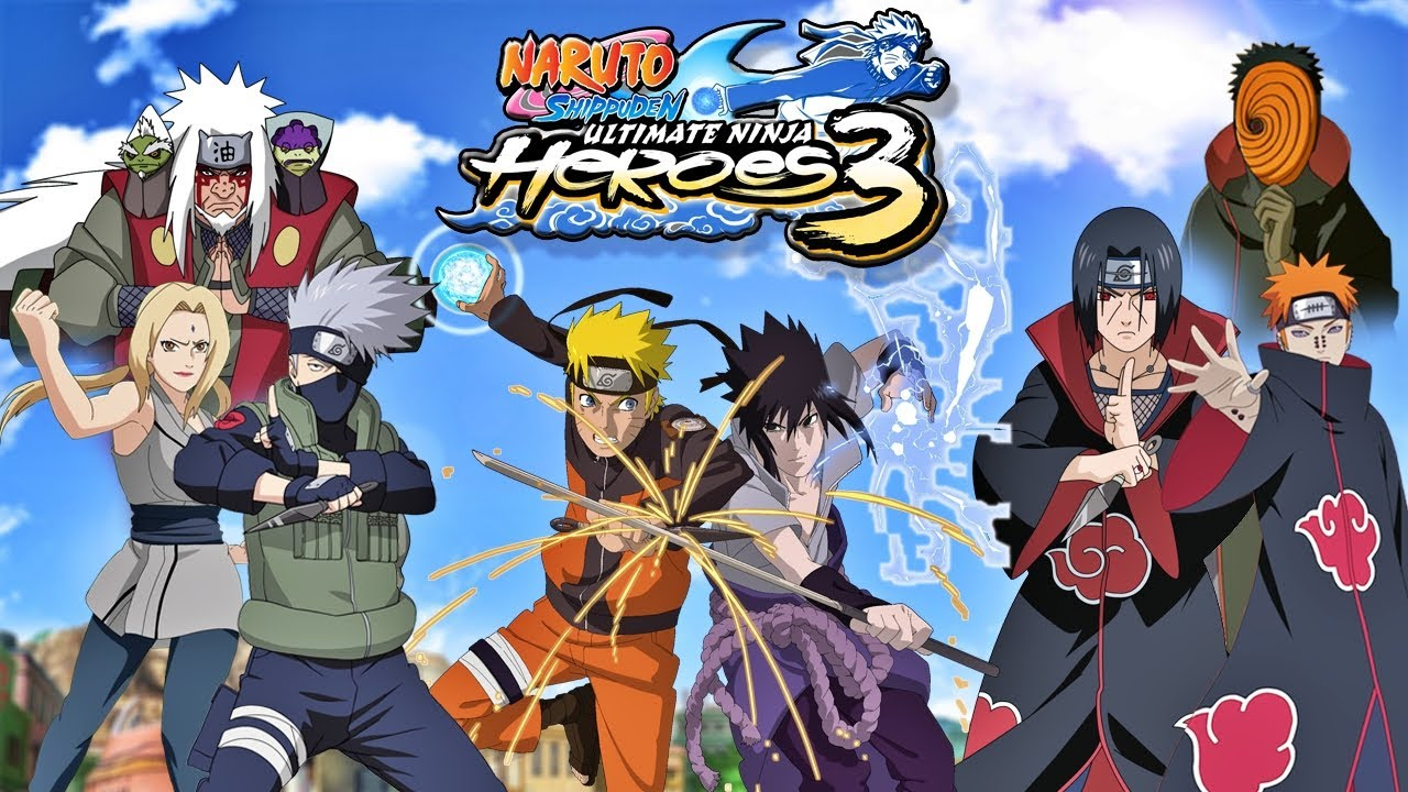 Naruto Shippuden Ultimate Ninja Heroes 3 (PPSSPP) PC ...