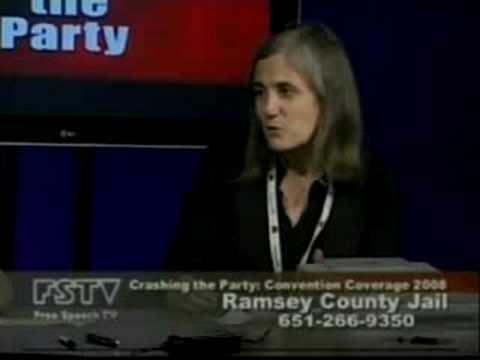 Amy Goodman talks about arrest (FSTV)