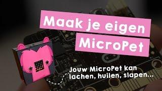 Missie 3 Maak je eigen MicroPet (met een Microbit)