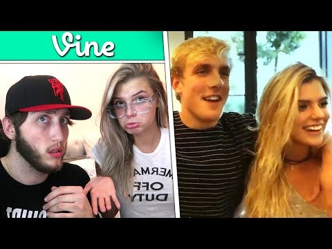 Thumbnail: REACTING TO MY GIRLFRIENDS VINES (Alissa Violet)