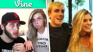 REACTING TO MY GIRLFRIENDS VINES (Alissa Violet) thumbnail