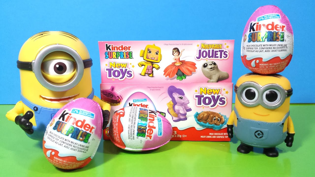 Toys R Us Kinder Küche 2015 New Toys Minions Open Kinder Surprise Eggs Youtube