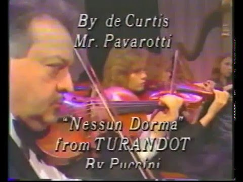 LUCIANO PAVAROTTI IN LAS VEGAS FULL CONCERT 1984