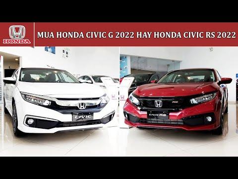 Nên mua Honda Civic 2021 G hay RS | Giá xe Civic G 2021 | Giá xe Civic RS 2021 | Honda Ôtô Vũng Tàu