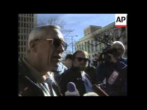 USA: DENVER: TIMOTHY McVEIGH TRIAL BEGINS OFFICIALLY