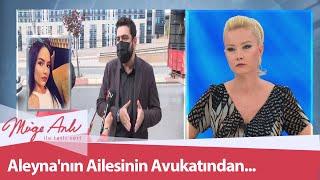Aleyna'nın ailesinin avukatından çarpıcı açıklamalar! - Müge Anlı İle Tatlı Sert 23 Eylül 2020