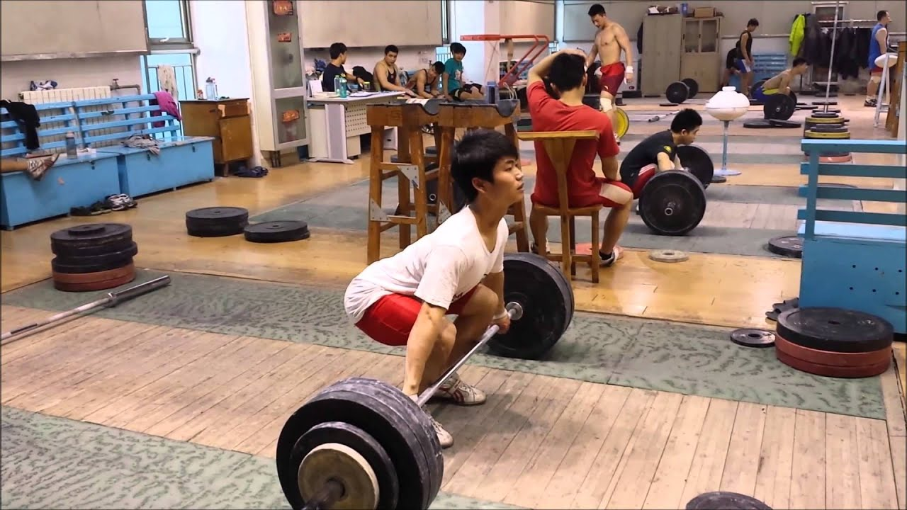 Chinese weightlifting system