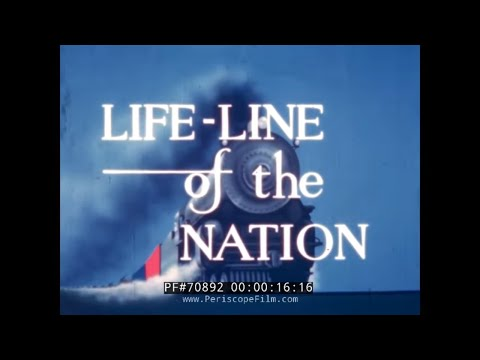 LIFE LINE OF THE NATION  AMERICAN RAILROADS IN WWII Carl Dudley 70892
