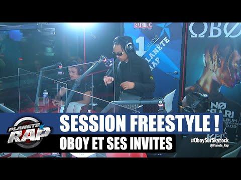 Youtube: Oboy – Session freestyle avec Manny, Moko & Beskri! #PlanèteRap