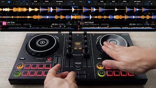 PRO DJ MIXES SPOTIFY TOP 40 SONGS ON $150 DJ GEAR - Fast and Creative DJ Mixing