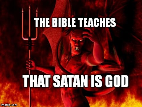 The Bible Says Satan Is God – The Truth Revealed!