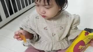 아기간식 고구마 말랭이, 맛있구마!
