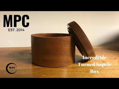 How to make an Incredible Looking Sapele Ring Box