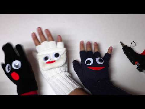 DIY Fun Gloves for Kids   Puppet Gloves for Kids Without Spending any Money