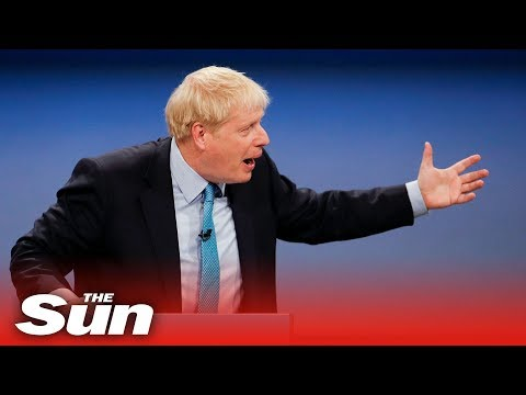 Boris Johnson's full speech at the Conservative Party Conference
