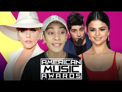 DEBRIEF DES AMERICAN MUSIC AWARDS 2016!