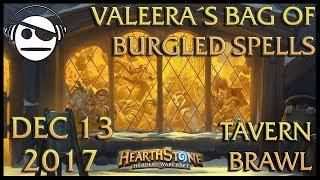 Hearthstone | Tavern Brawl 101 | Valeera´s Bag of Burgled Spells | 13 DEC 2017