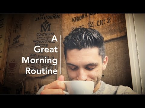 A Great Language-Learning Morning Routine