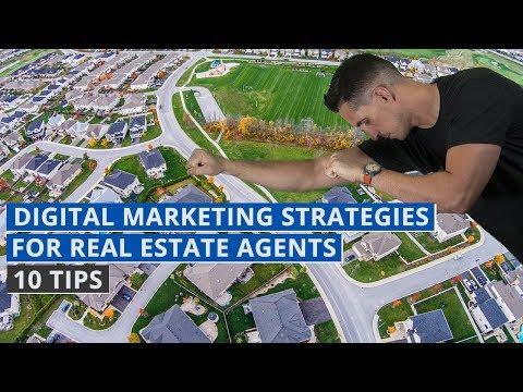 Digital Marketing Strategies for Real Estate Agents – 10 Tips