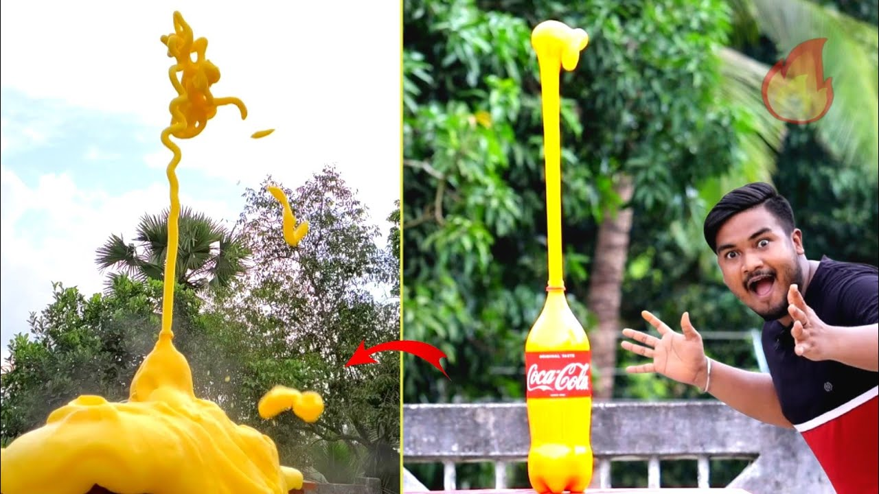 Coca Cola Super Reaction | OMG!! না দেখলে বিশ্বাস হবে না 😱 amazing Reaction