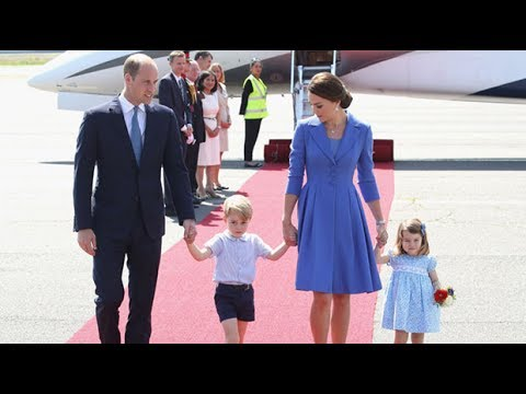 Duke and Duchess of Cambridge's hectic first day in Germany