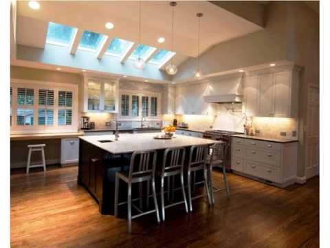 Modern Kitchen Vaulted Ceilings - YouTube