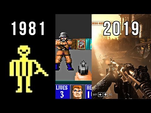 Evolution Of Wolfenstein 1981-2019